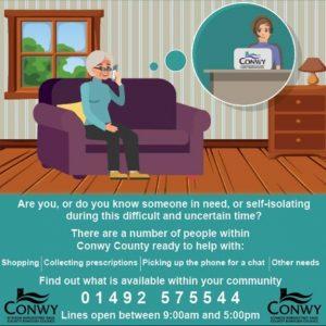 Conwy Helpline
